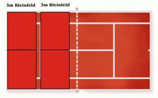 Newsimages nachwuchs tennisfeld rot